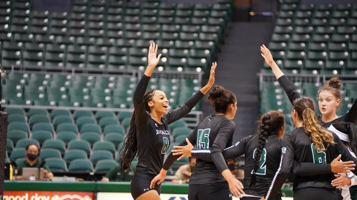 After 623 days, the University of Hawaii Rainbow Wahine volleyball team returned to the court...