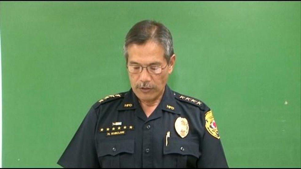 Police Chief Harry Kubojiri