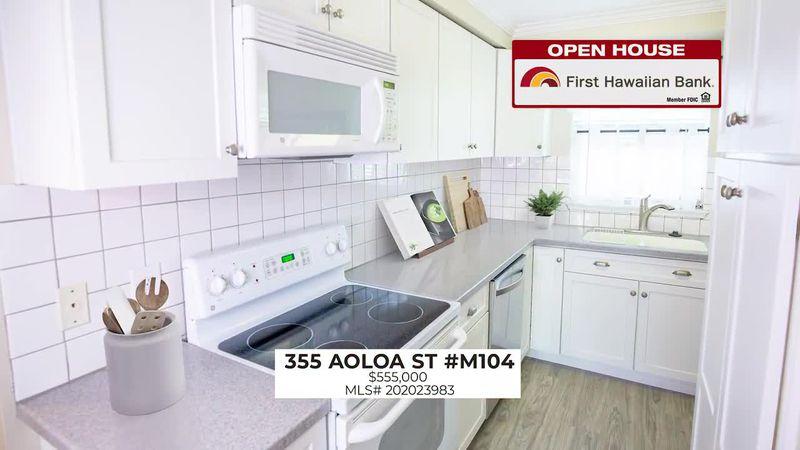 Open House: Spacious 2 BD, 2 BA in Kailua and 3 BD, 2.5 BA home in Makakilo