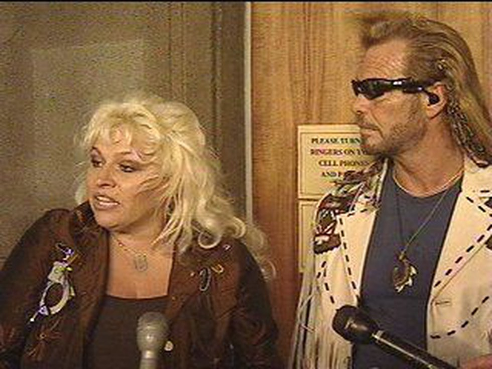 Beth Smith and Duane Chapman in February 2006