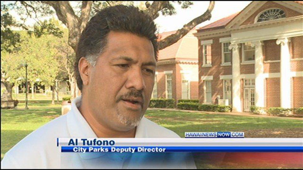 Al Tufono, city parks deputy director