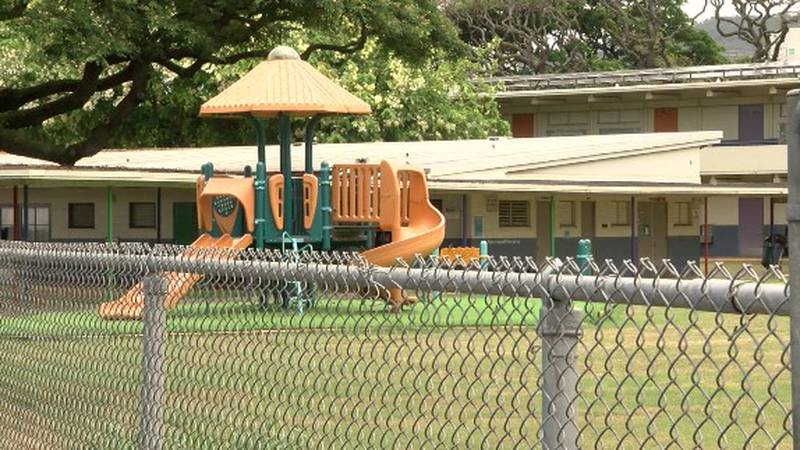 Likelike Elementary School is one of seven campuses with currently unfunded positions.