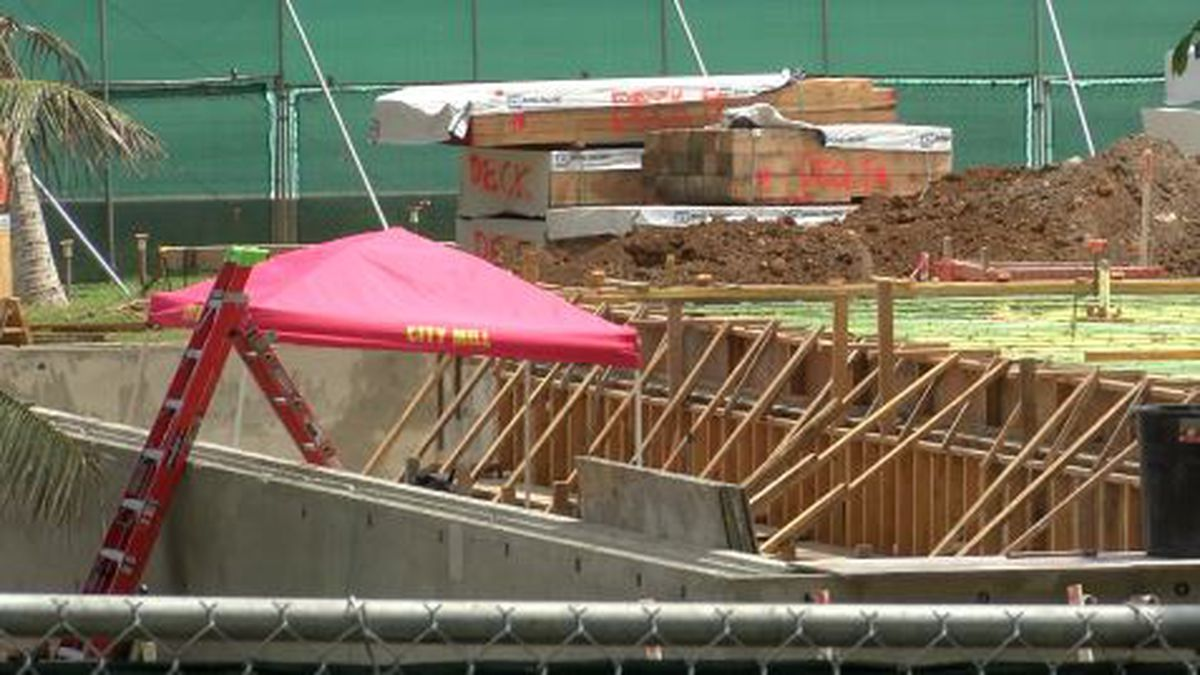 Waimanalo property under construction believed to be future home of Obamas
