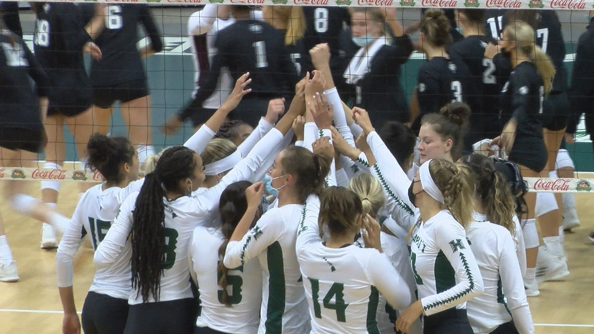 The University of Hawaii volleyball team wrapped up the Hawaiian Airlines Rainbow Wahine...