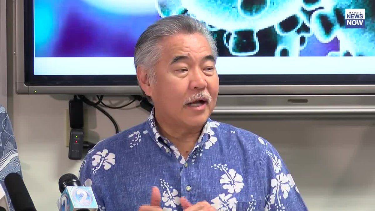 During a press conference Wednesday, Governor Ige confirmed that there have been no reported...