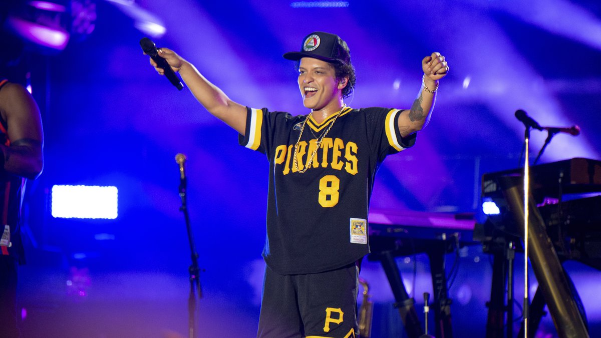 Bruno Mars performs at the Bottle Rock Napa Valley Music Festival at Napa Valley Expo on May...