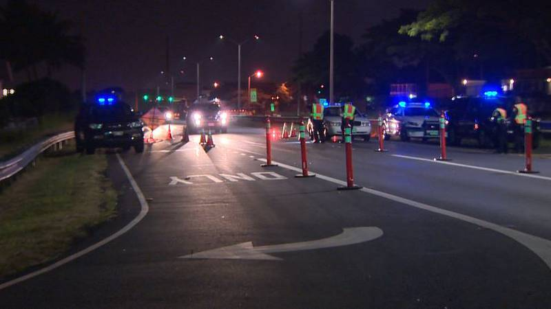 Honolulu Police DUI Checkpoints