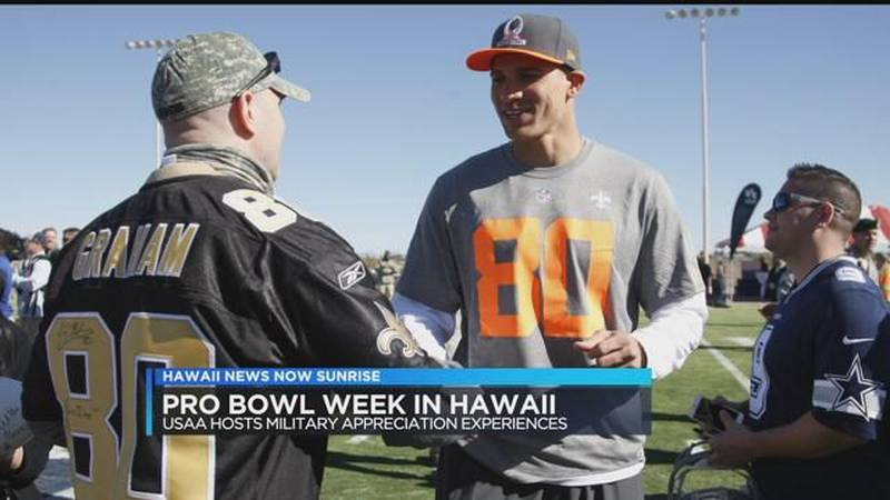 USAA honors 75th anniversary of Pearl Harbor during Pro Bowl week