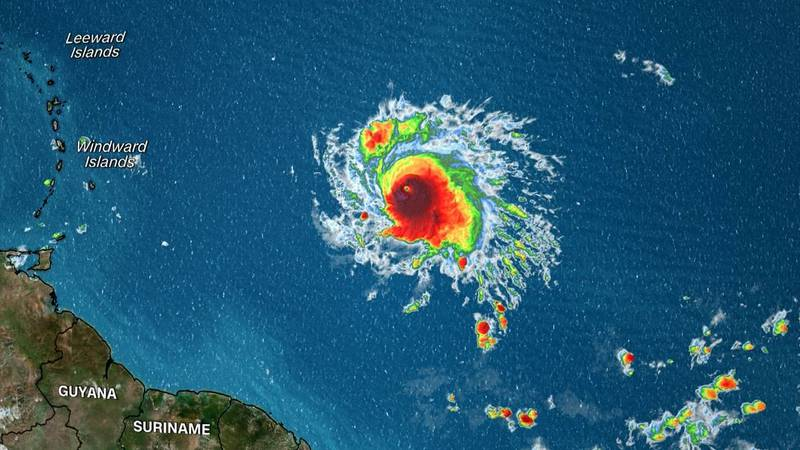 Sam has strengthened into the fourth major hurricane of the season.