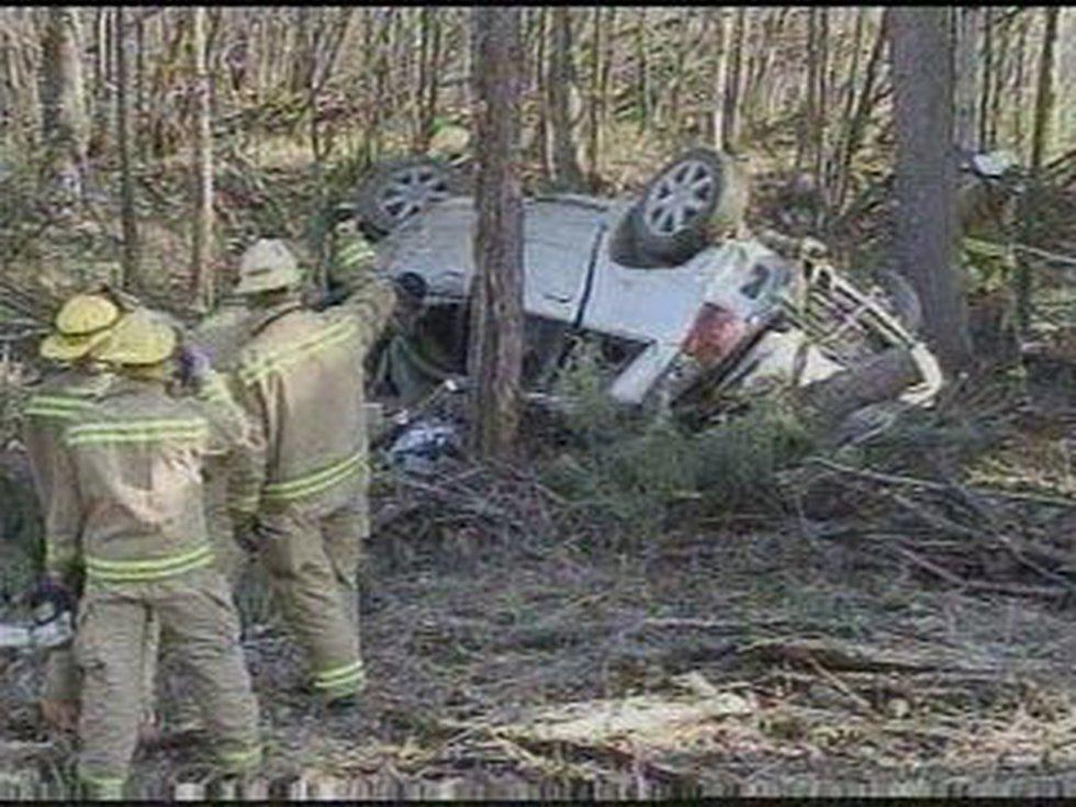 Wreckage from the crash that killed Barbara Katy Chapman near Fairbanks, Alaska.