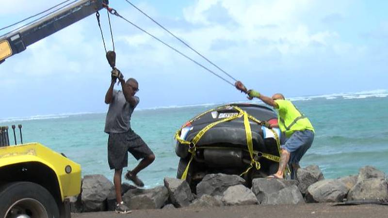 On Sunday, Kamehameha Highway was closed in both directions as crews worked to remove the...