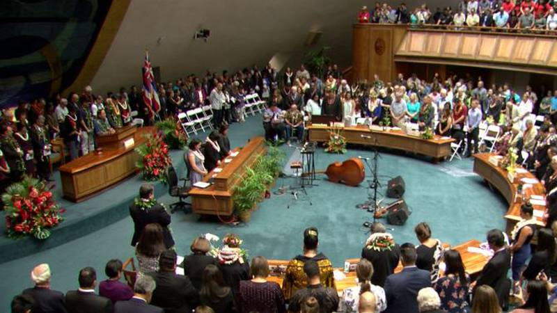 The 30th legislative session in Hawaii is officially underway. (Image: Hawaii News Now)
