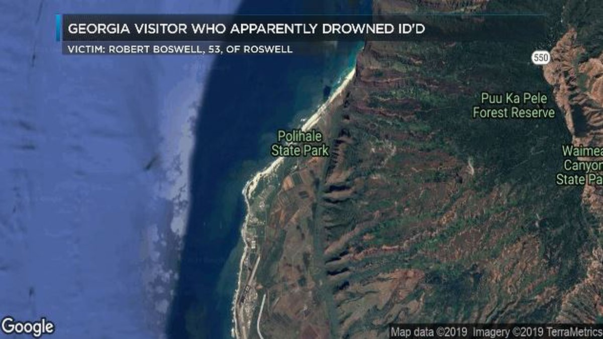 The victim's name was released Wednesday by Kauai officials.