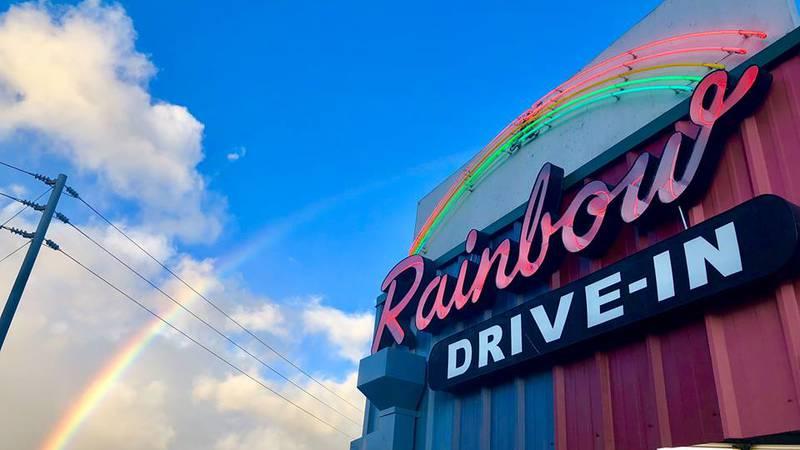 Rainbow Drive-In, Kapahulu Location