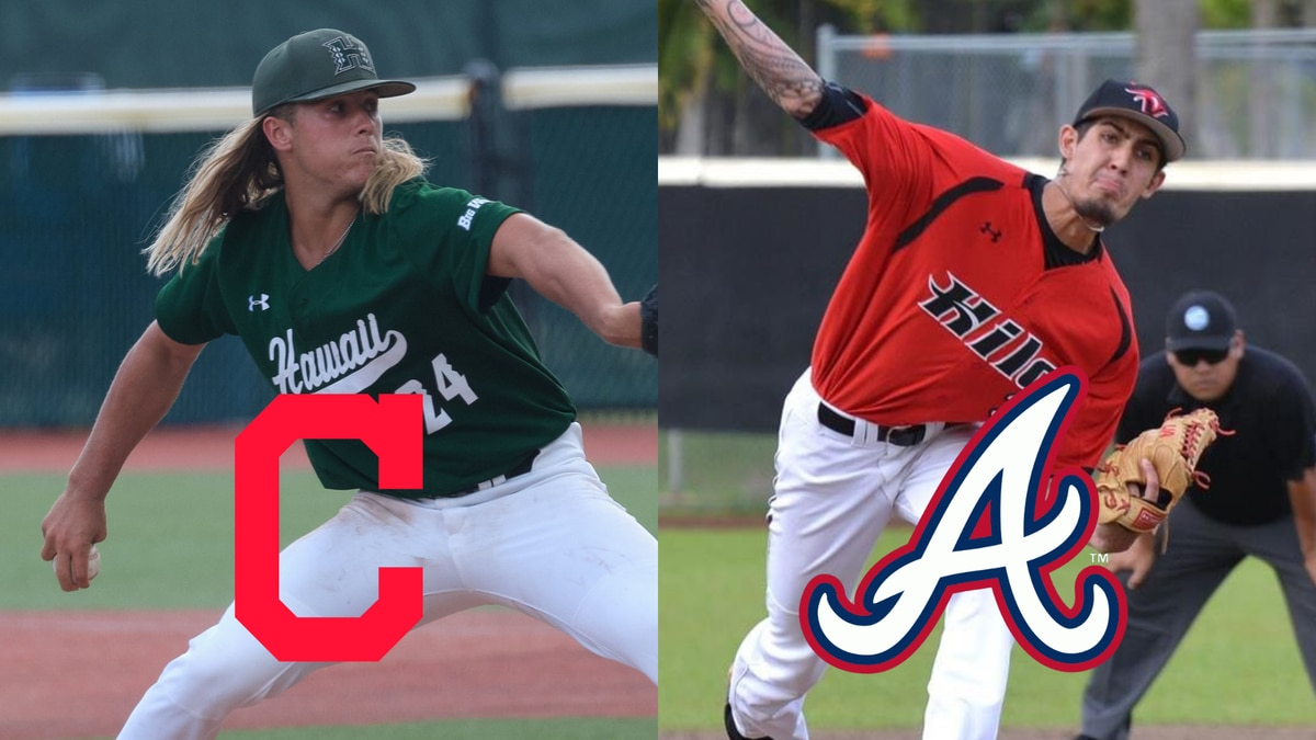 On day two of the 2021 MLB Draft, two players with Hawaii ties had their names called in the...