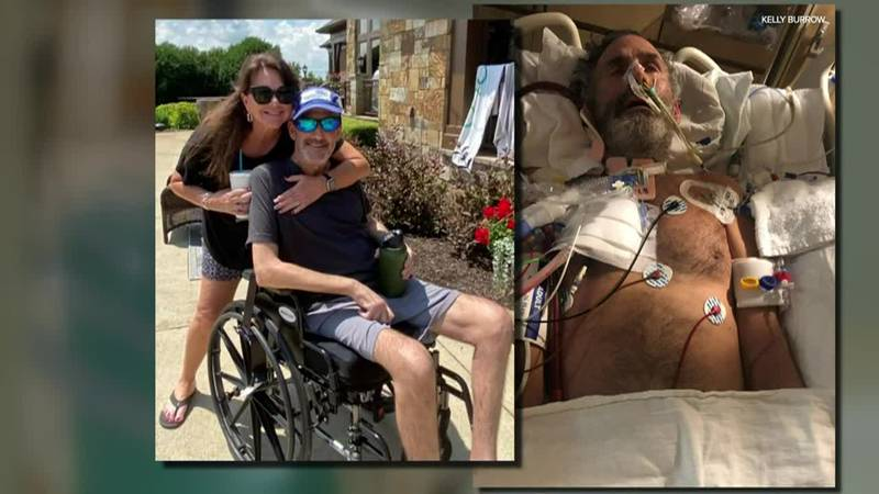 The 51-year-old man, who was hospitalized for three months, is encouraging others to take...