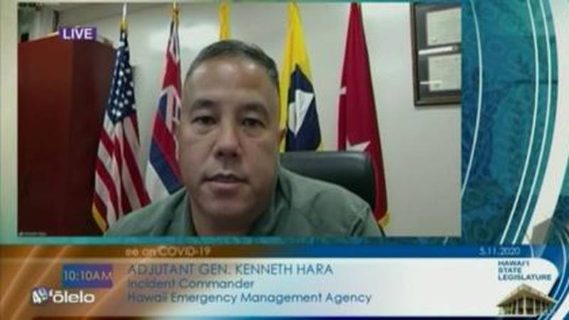 Maj. Gen. Kenneth Hara, incident commander, warned a state House Committee of the potential for...