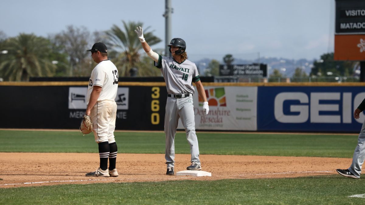 The University of Hawaii baseball team continues their struggles on the road, falling to Cal...