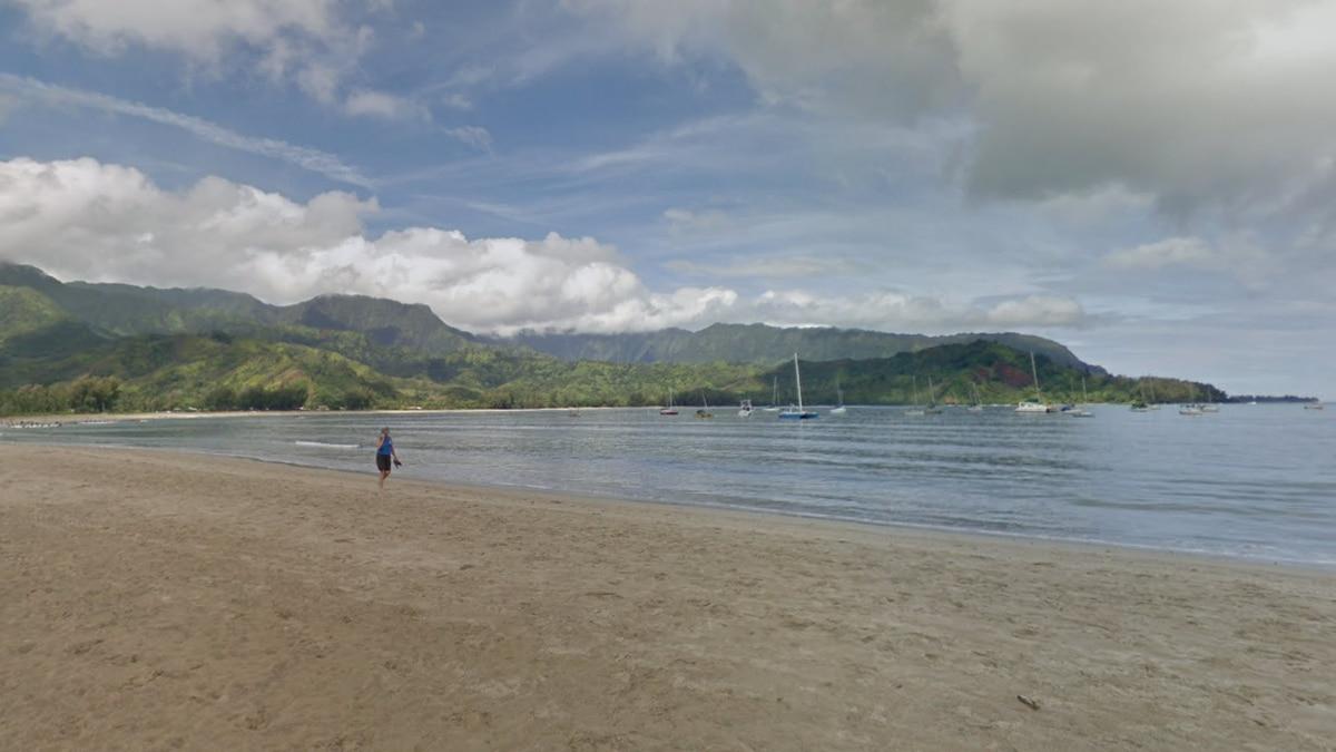 File photo of Kauai's Hanalei Bay. (Courtesy: Google Maps)