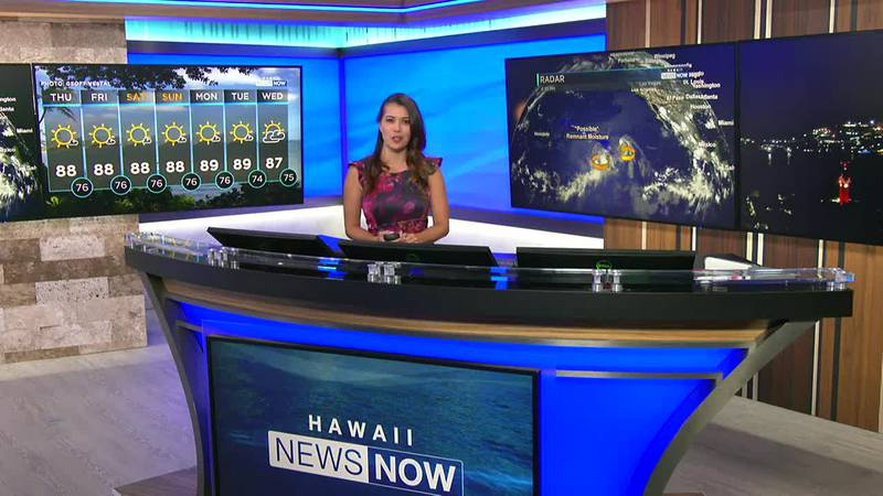 Trade winds continue to dominate and hoping tropical systems could bring some rain