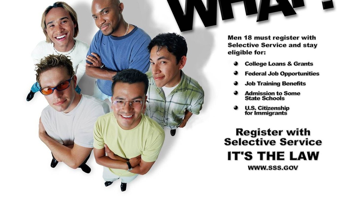 Young men should register with federal system to be eligible for major benefits. (Image: SSS).