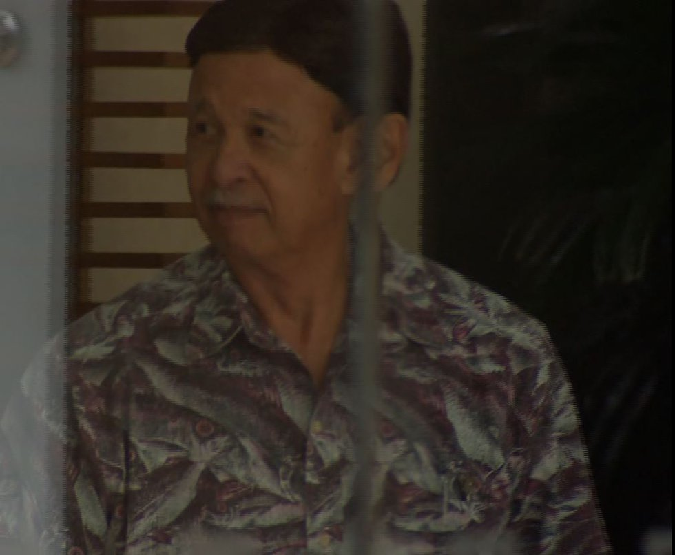 Roger Lau, Special Assistant to embattled Prosecuting Attorney Keith Kaneshiro, leaves the...