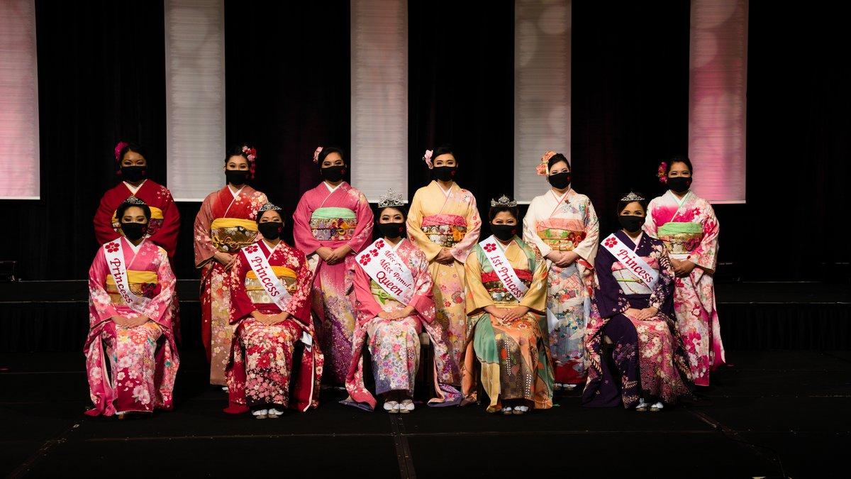 69th Cherry Blossom Festival Queen contestants