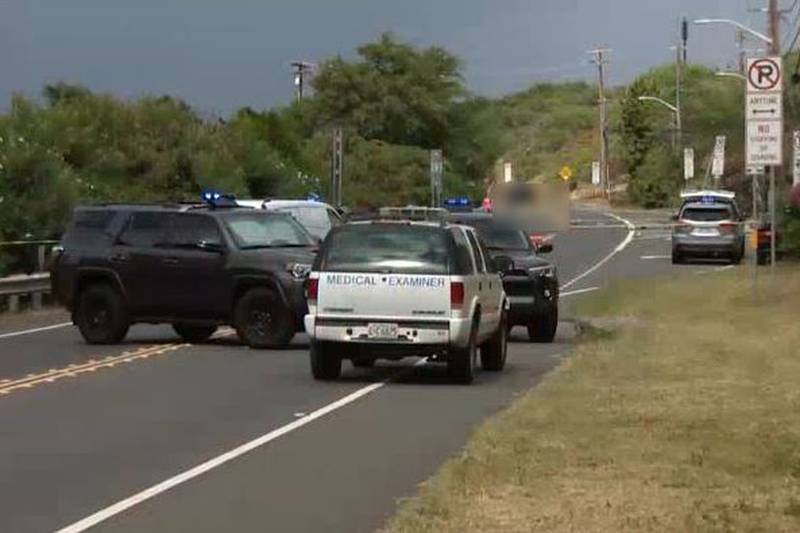 Police shut down the highway to conduct the investigation Thursday afternoon.