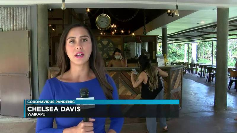 Maui's new requirement for restaurant workers to be vaccinated or test weekly is causing some...