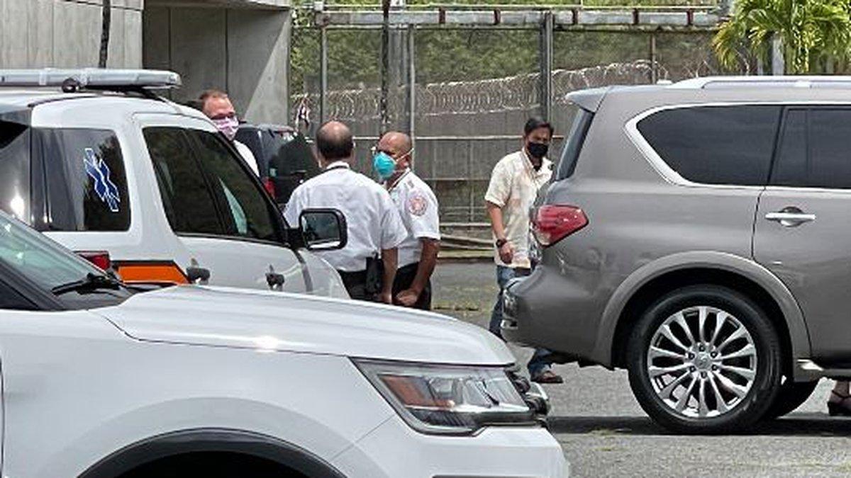 Several Halawa Correctional Facility inmates were taken to area hospitals Thursday following an...