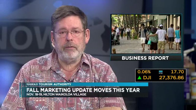 Business Report:  HTA Moves Fall Tourism Update