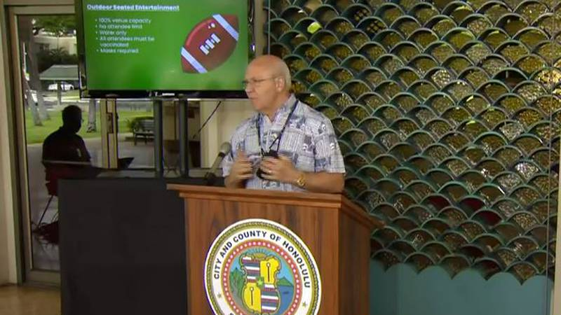 Honolulu Mayor Rick Blangiardi announced a reopening plan Wednesday that dramatically eases...