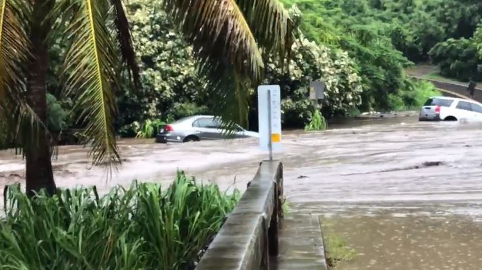 Tropical Storm Olivia triggered widespread flooding on Maui. (Image: Damian Antioco)