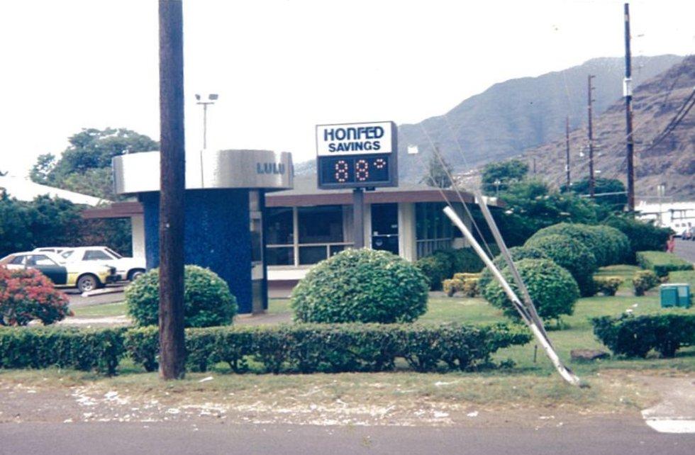Honfed branch in Waianae, circa 1986.