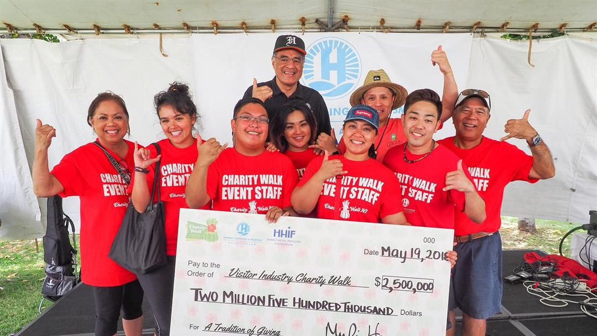 The 44-year-old charity walk hosted by the tourism industry raised a record $2.5M across the...
