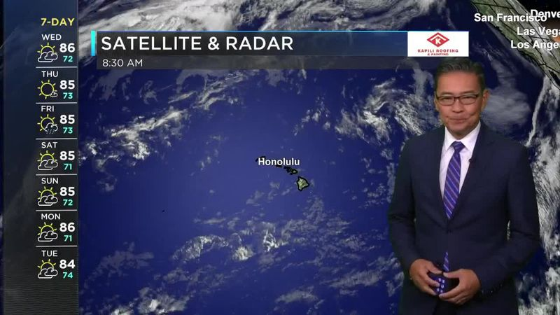 HNN Morning Web Weather Wednesday, May 26, 2021
