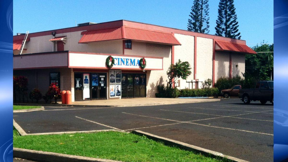 File Image of the Kauai Cinema in Lihue