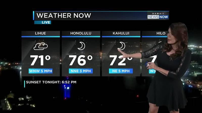 Meteorologist Jennifer Robbins Evening weather