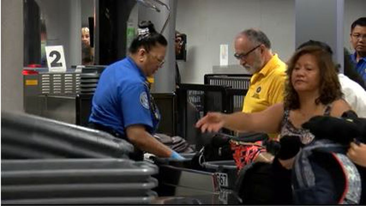 At Daniel K. Inouye International Airport, news of the short-term deal to reopen the government...