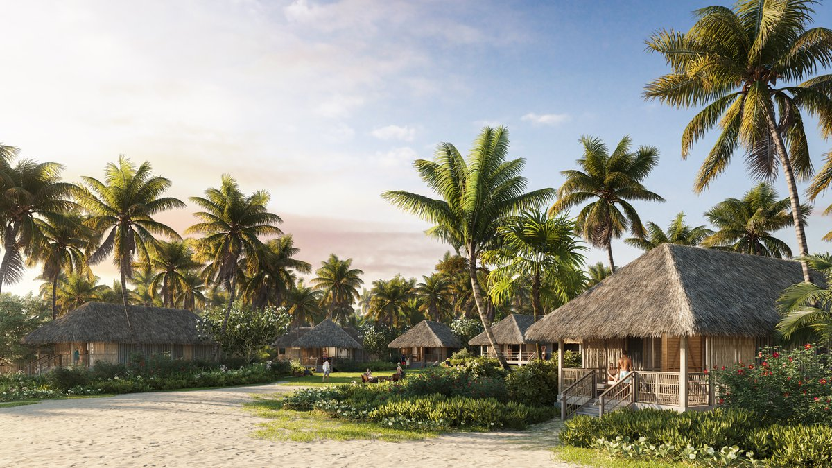 Kona Village Resort renderings of what the redesigned hotel will look like.