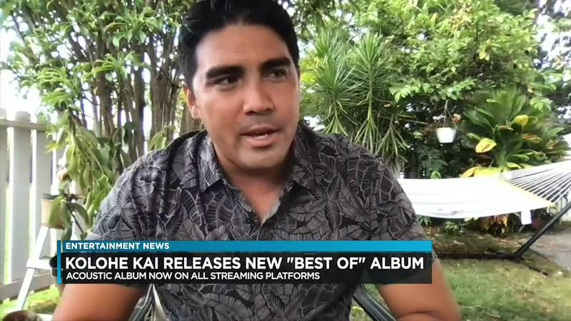 """Roman De Peralta talks to Billy V about the twist on the new """"Best of Kolohe Kai"""" album that is..."""