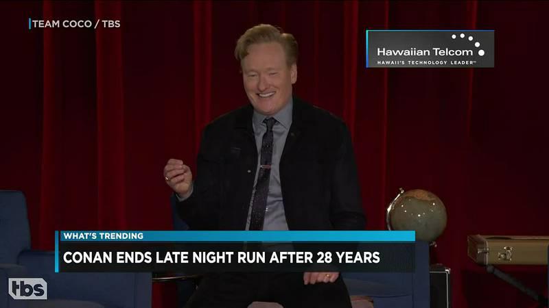 Conan says goodbye