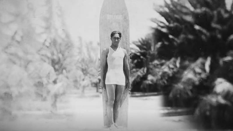 The life of legendary Hawaii swimmer and surfer Duke Kahanamoku is told in a new documentary...