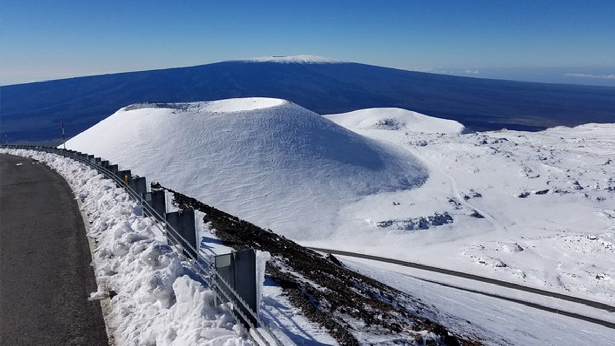 Mauna Kea gets snow, sure. But did you know it also has permafrost? (Image: UH News)