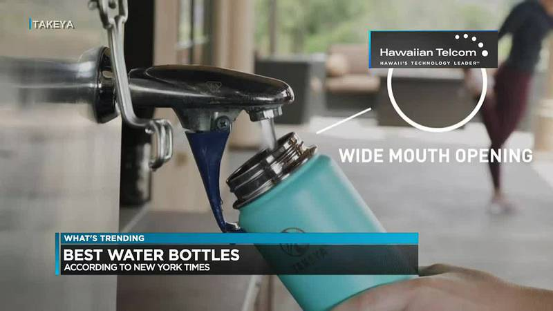 What's Trending: Best water bottles for different uses