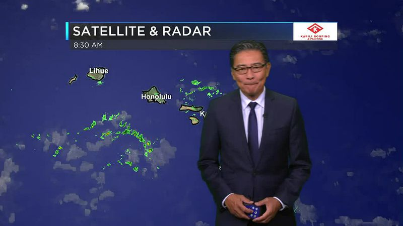 Morning Weather Forecast from Hawaii News Now - Thursday, June 17, 2021