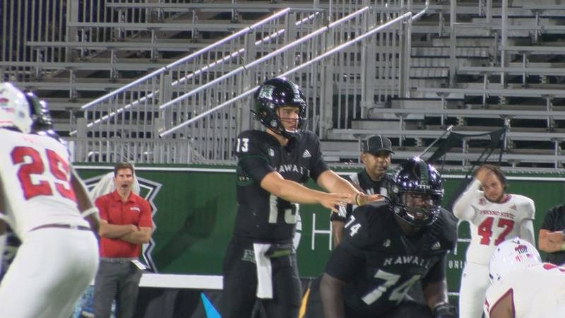 The University of Hawaii football team was able to pull off the upset victory Saturday night,...