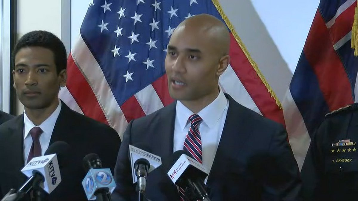 U.S. Attorney Kenji Price announced charges against Kauai County councilman Arthur Brun and 11...