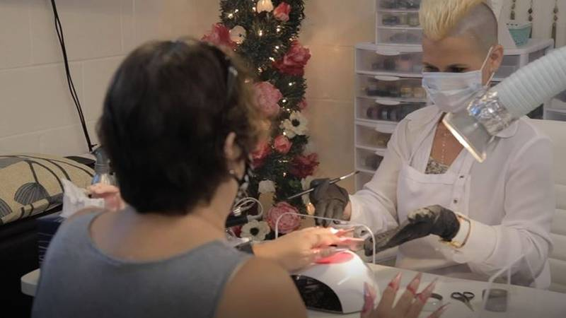 Reese Owens Yap of Lehiwa Designs Esthetics and Nails in Wailuku says it's been a joy to...
