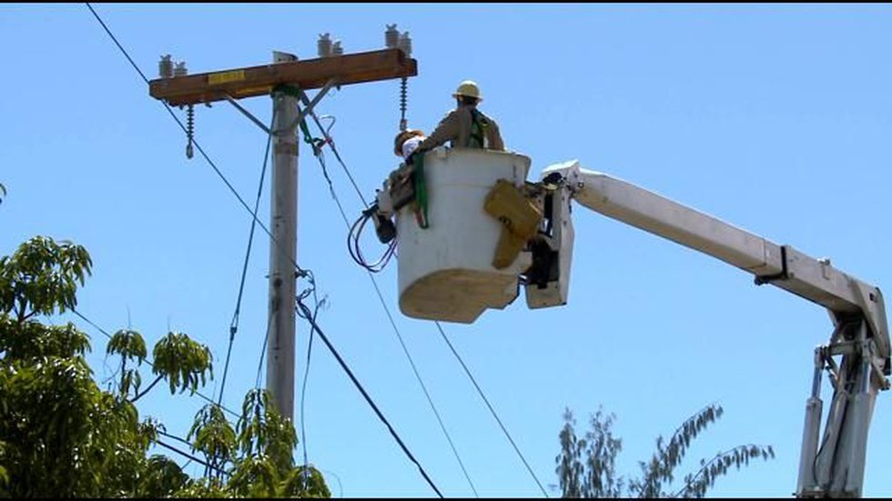 Ongoing eruptions in the lower Puna area have damaged 400 electric poles, according to HELCO...
